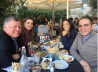 الصورة التي نشرتها الملكة رانيا