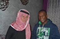 اللاعب اوليفيرا مع رئيس نادي الرمثا