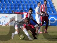 من مباراة شباب الأردن والجزيرة