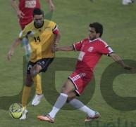 من مباراة سابقة بين الحسين اربد والأصالة