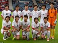 منتخب كوريا الشمالية للسيدات