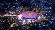 تصميم لملعب برشلونة الجديد