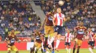 جانب من مباراة بالدوري الكولومبي
