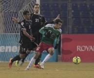 صورة من مباراة الذهاب بين الفريقين