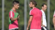لاعبا يوفنتوس كلاوديو ماركيزيو وباولو ديبالا