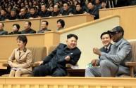 الزعيم الكوري الشمالي كيم يونج أون