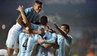 ارشيفية للاعبي منتخب الأرجنتين