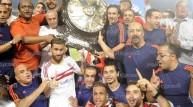 الزمالك بطل الدوري 2014-2015
