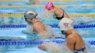 جانب من منافسات السباحة