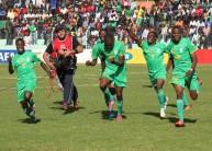لاعبو زيمبابوي