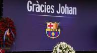 برشلونة خلال تأبين كرويف (أرشيف)