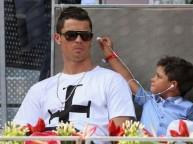 كريستيانو وابنه