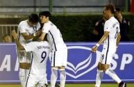 فرحة لاعبي كوريا بالفوز