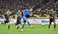 لقطة هدف يارملينكو