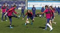 من تدريبات برشلونة