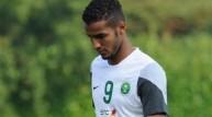 لاعب السعودية نايف هزازي (أرشيف)
