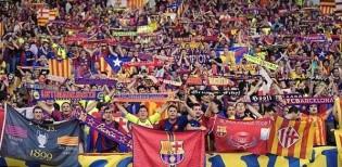 من جمهور برشلونة